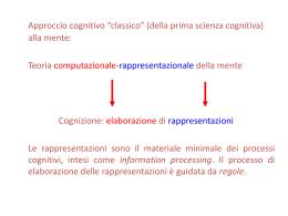 Logica e Filosofia della scienza 2013 2014 Scienze cognitive 2