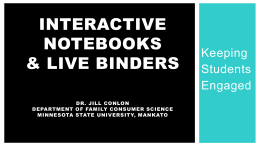 Try Interactive Notebooks or LiveBinders!