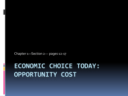 Economic - Putnam County R1