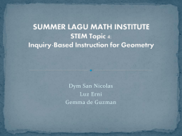 Best Practices for Inquiry Based Instruction and