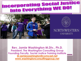 jamie_washington - Northwestern University