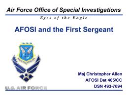 OSI FSA Brief updated 31 Jul 12