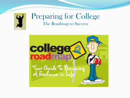 Preparing for Community College
