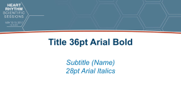 Title 36pt Bold Arial