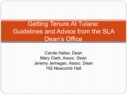 Getting-Tenure-At-Tulane-2015-2c-March-2