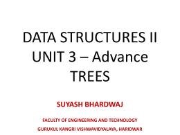 Unit 3 - Suyash Bhardwaj