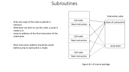 Subroutines (Part 1) (in )