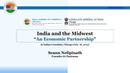 Mr. Seann Nelipinath - Consulate General of India