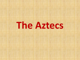 The Aztecs - What is the DGfL?