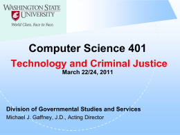 Criminal Law - Washington State University