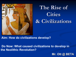 Cities and Civilizations - My Social Studies Teacher