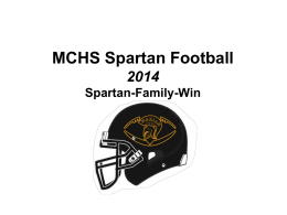 CMHS Football - Marian Catholic High School