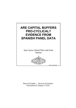 Are capital buffers pro-cyclical? Evidence from