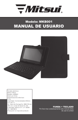MKB001_User_Manual - Diamond Electronics