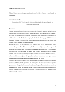 documento original - Centro de Documentación y Recursos