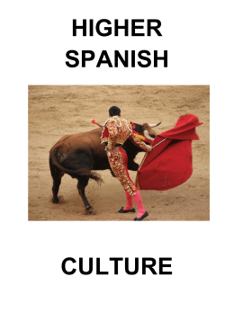 higher spanish culture - St. Modans High School
