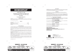 homostat - Roemmers