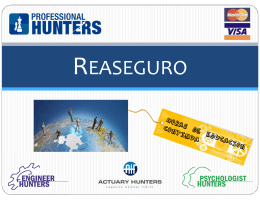 reaseguro - Professional Hunters