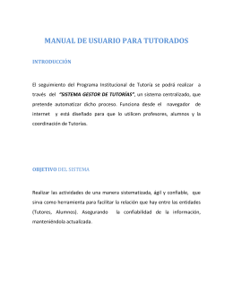 manual de usuario para tutorados