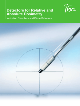 Detectors for Relative and Absolute Dosimetry