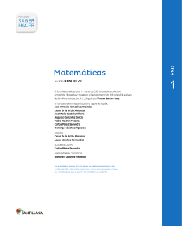 Matemáticas - Santillana