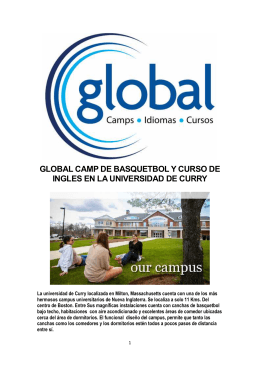 GLOBAL CAMP DE BASQUETBOL Y CURSO DE INGLES EN LA