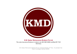 KM Dastur Reinsurance Brokers Pvt.Ltd