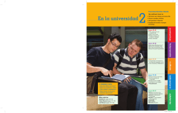 En la universidad - Vista Higher Learning