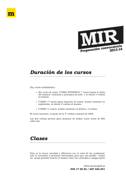 Documentación MIR - meca