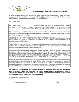 BLST Liability Waiver 2014.Spanish.pages