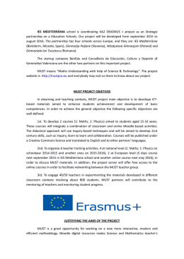 IES MEDITERRÀNIA school is coordinating KA2 ERASMUS +