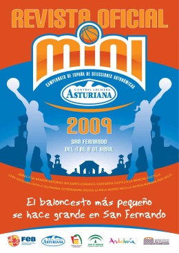Revista Campeonato Mini 2009