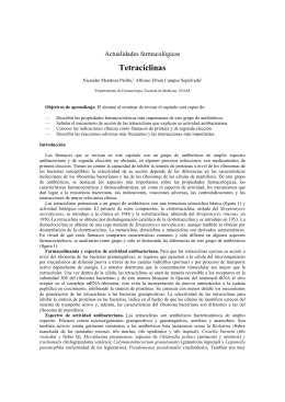 Tetraciclinas - E-journal