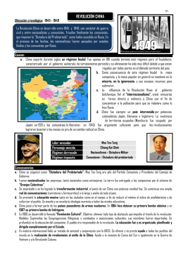 Revolución China - uesralourdes.com.ve