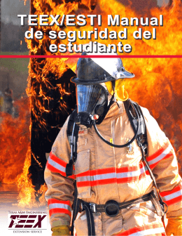 Manual de Seguridad del Estudiante de TEEX