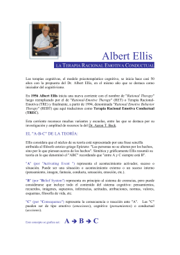 Albert Ellis - CAT Barcelona