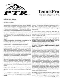 TennisPro - American Sports Builders Association