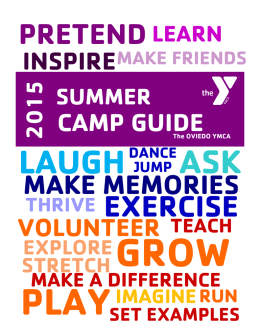 make memories - YMCA Central Florida