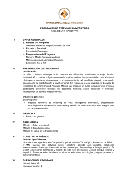 PROGRAMAS DE EXTENSION UNIVERSITARIA DOCUMENTO