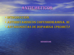 ANTIEMETICOS