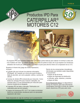 caterpillar® motores c12