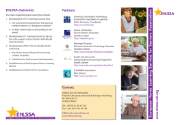European Home Learning Service for Seniors Association