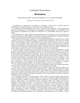 Herbolaria - E-journal