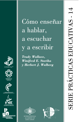 Teaching speaking, listening and writing [Spanish version]