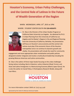 Flyer - University of Houston
