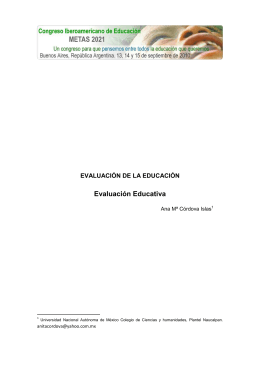 Descarga Evaluación educativa