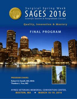 the 2016 Final Program PDF