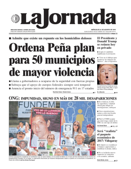 Ordena Peña plan para 50 municipios de mayor