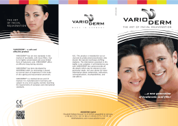 a new generation of hyaluronic acid filler