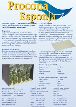 Procona esponja - Pagter Innovations